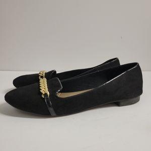 Black Flats Size 12